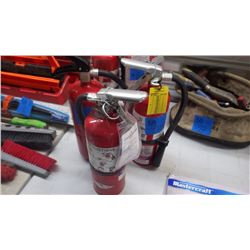 3 FIRE EXTINGUISHERS