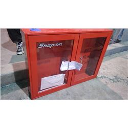 SNAPON GLASS FRONT CABINET