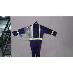 UNLINED CONTRACTOR 10 PAIR COVERALLS - SIZE 50T