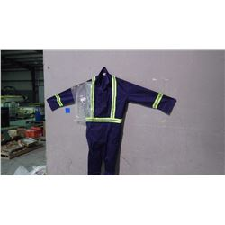UNLINED CONTRACTOR 5 PAIR COVERALLS - SIZE 52R