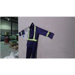 UNLINED CONTRACTOR 9 PAIR COVERALLS - SIZE 56R
