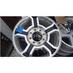 HARLEY DAVIDSON F350 TRUCK RIMS AND CENTRE CENTRE CAPS