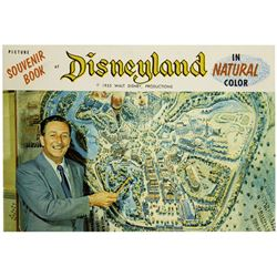 "Opening Year ""Picture Souvenir Book of Disneyland""."