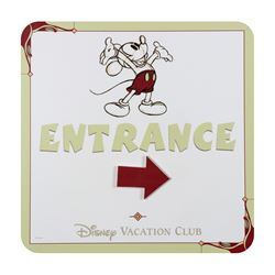 Disney Vacation Club Entrance Sign.
