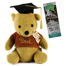 Grad Nite '77 Souvenir Pooh Bear and Ticket.