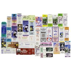 Collection of (59) Disneyland Admission Tickets.