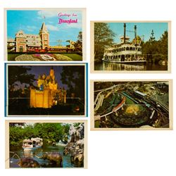 """Set of (5) """"Colorful Scenes from Disneyland"""" Mailers."""
