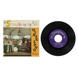 "The Strawhatters ""Dixieland at Disneyland"" Record."