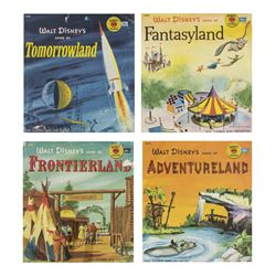 Set of (4) Disneyland Land Records.