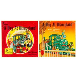 "Pair of ""A Day at Disneyland"" Records."
