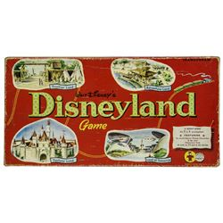 Walt Disney's Disneyland Game.