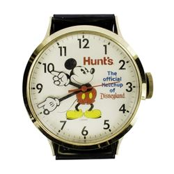 Hunts Ketchup Oversize Wall Clock.
