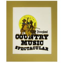 "Original ""Country Music Spectacular"" Promotional Artwork."