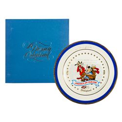 America on Parade Collectible Plate Product Sample.