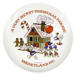 Very Merry Christmas Parade Premier Plate.