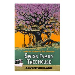Swiss Family Treehouse Attraction Poster.