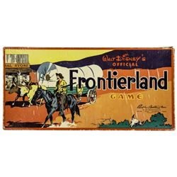 Walt Disney's Official Frontierland Game.