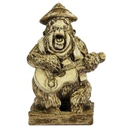 "Randotti Country Bear Jamboree ""Big Al"" Statue."