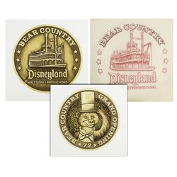 Original Bear Country Grand Opening Coin Artwork.