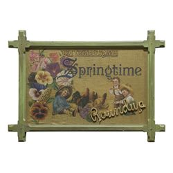 Big Thunder Ranch Springtime Roundup Sign.