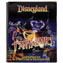 "Disneyland ""Fantasmic!"" Spiral-Bound Notebook."