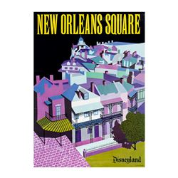 New Orleans Square Near-Attraction Poster.