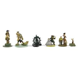 Pirates 50th Anniversary Pewter Figure Set.