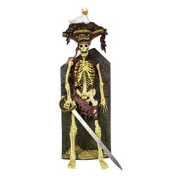 Limited Edition Bird Head Skeleton Pirate Figure.