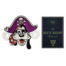Blue Bayou Souvenir & Child's Menus.