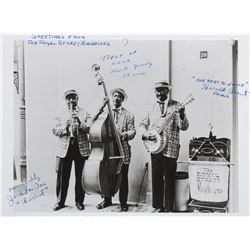 "Signed ""Royal Street Bachelors"" Promotional Photo."