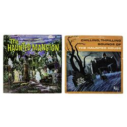 "Pair of ""Haunted Mansion"" Records."