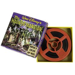 Haunted Mansion Souvenir 8mm Film.