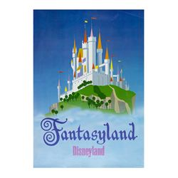 "Fantasyland ""Near-Attraction"" Poster."