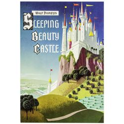 Sleeping Beauty Castle Guidebook with Coupon.