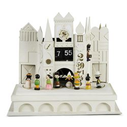 It's a Small World Animated Clock Prototype.