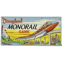 Disneyland Monorail Game.