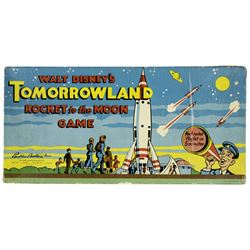 Walt Disney's Tomorrowland Rocket to the Moon Game.