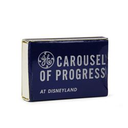 Carousel of Progress VIP Matchbox.