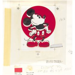 Mickey Color Separation Artwork and Patch.