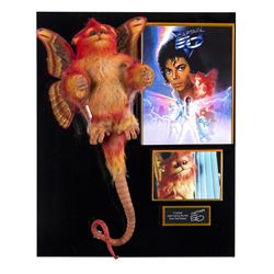 "Fuzzball Animatronic Figure from ""Captain EO""."