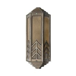 Tower of Terror Amber Outdoor Wall Light.