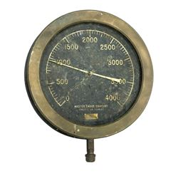 Tower of Terror Pressure Gauge Prop.