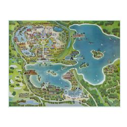 Walt Disney World Oversize Map.