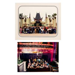"Pair of ""The Great Movie Ride"" Imagineer Photos"