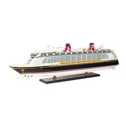 Disney Fantasy Cruise Ship Model.