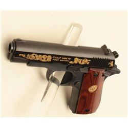 Colt Government Model semi-auto pistol, .380 caliber, Serial #RC00294. The