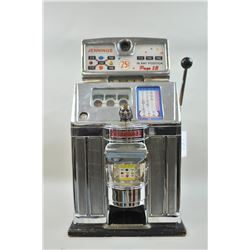 Jennings Governor tic tac toe .05 cent slot machine. All