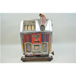 Jennings Dutchess 1934 fortune wheels .05  machine with candy dispenser. Legal in all 50  states. Re
