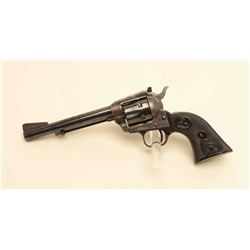 "Colt New Frontier Model SAA revolver, .22LR  caliber, 6"" barrel, blued and case hardened  finish, ch"