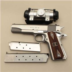 Springfield Arms Model 1911-A1 semi-auto  pistol, .45 caliber, Serial #NSNV.  The  pistol is in very